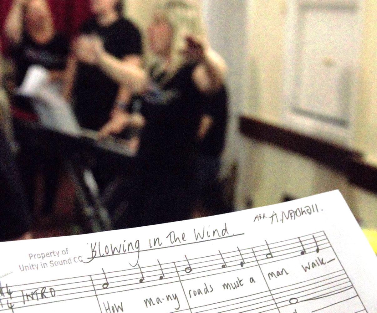 Unity in Sound Community Choir Ipplepen